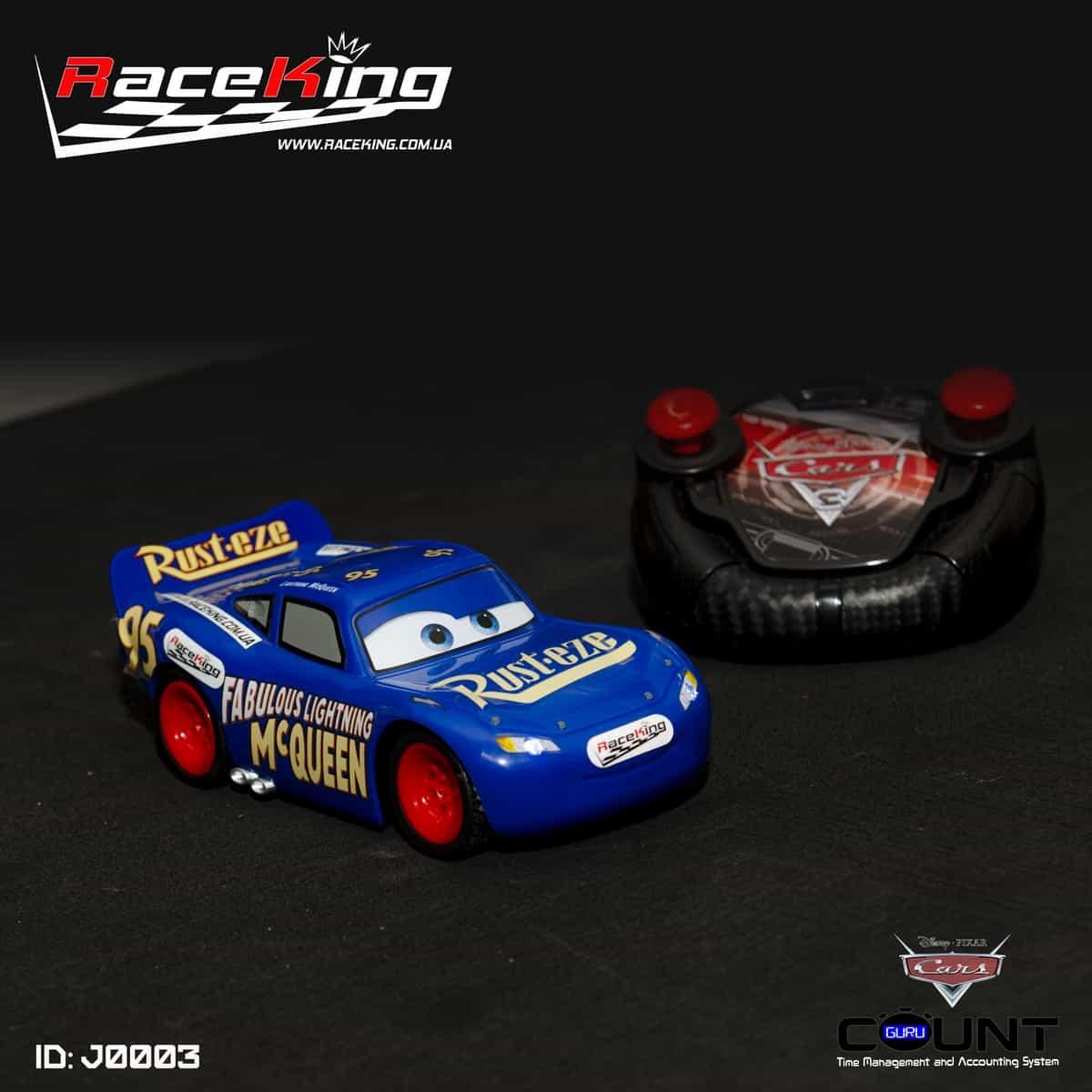 J0003 Lightning McQueen Blue